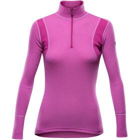 Devold Hiking Half Zip Neck Shirt Women Anemone